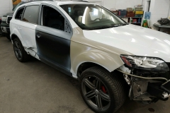 Audi-Mid-Process | Auto Body Collision Repair | Auto Body Center | Bozeman, MT